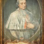 Portret olejny ks. biskupa Kazimierza Łubieńskiego z początku XVIII w.