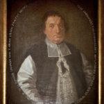 Portret olejny Ks. kanonika D. Lochmana z pierwszej połowy XVIII w.