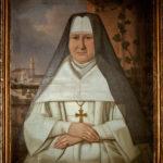 Portret olejny ksieni Felicjany Otwinowskiej z końca XVIII w.