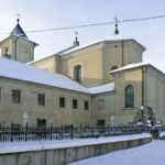 Elewacja klasztoru od strony wschodniej
