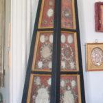 Relikwiarz drewniany z początku XVIII w.