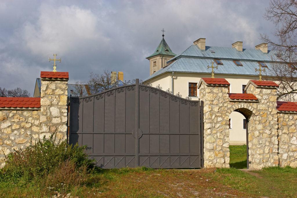 Brama od strony wschodniej