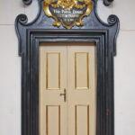 Portal wejściowy z kościoła do kaplicy klasztornej
