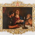 """Obraz olejny """"Emaus"""" z XVII w."""