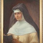 Portret ostatniej ksieni klasztoru – m. Konstancji Łukowicz (+1973)