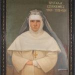 Portret olejny ksieni Stefanii Czerkiewicz z początku XX w.