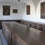 Komoda na garderobę zakonnic z ok. 1720 r. – pomieszczenie westiarni