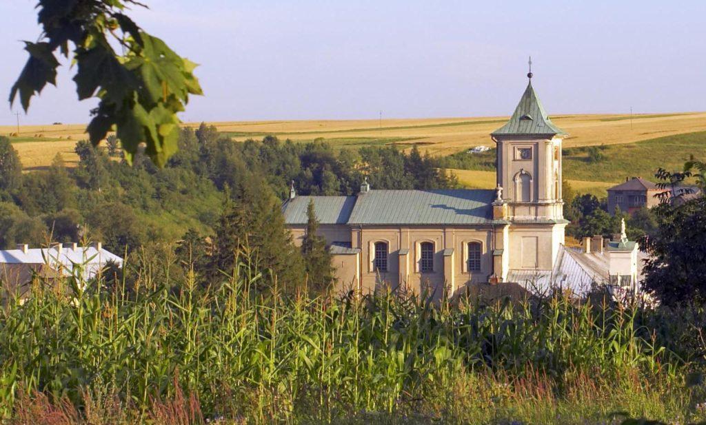widok klasztoru